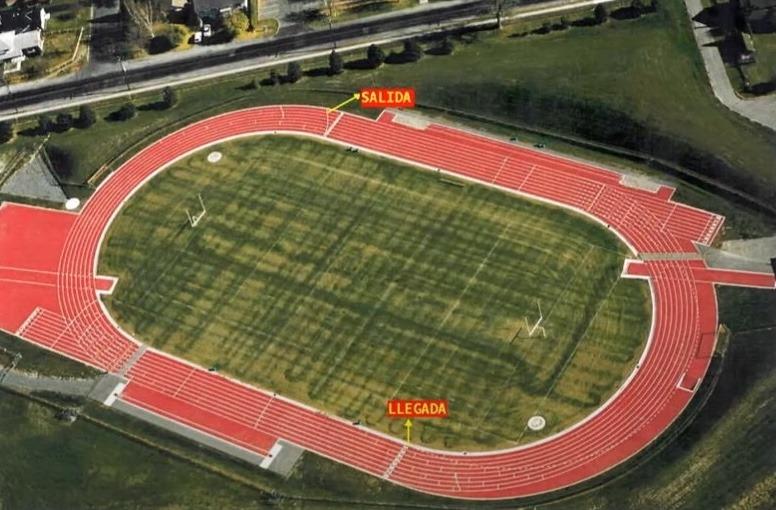 circuito de 1000 metros